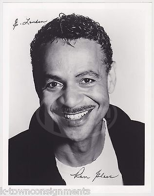 RON GLASS BARNEY MILLER & FIREFLY TV SHOW ACTOR AUTOGRAPH SIGNED PROMO PHOTO