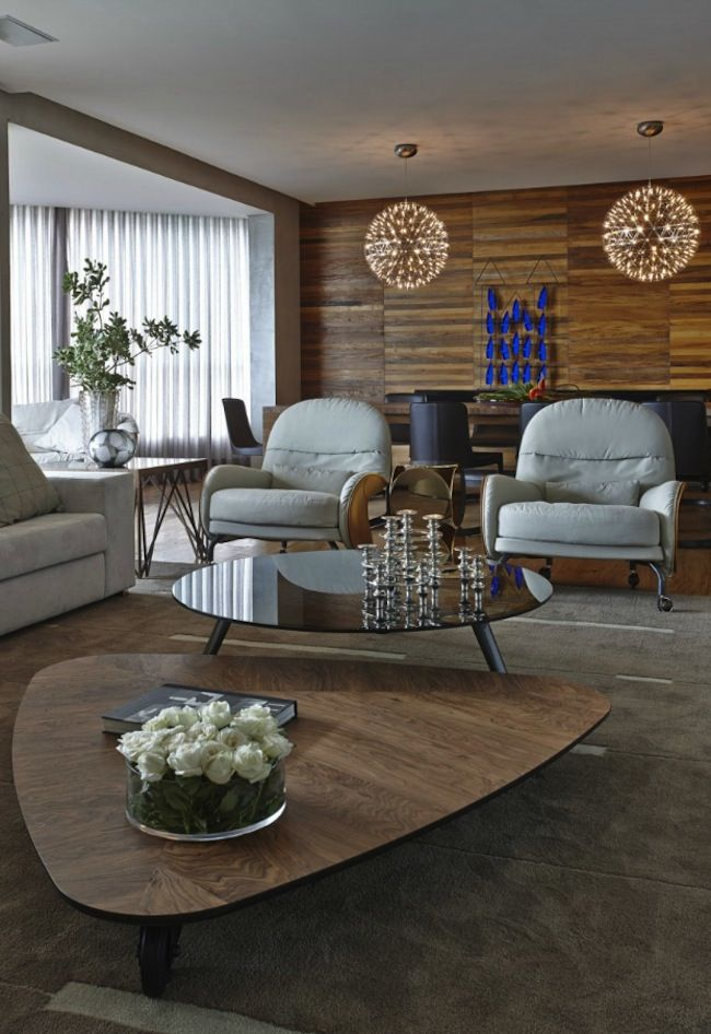david guerra created this interior for a couple located in belo horizonte brazil it was designed to incorporate the warmth and comfort of