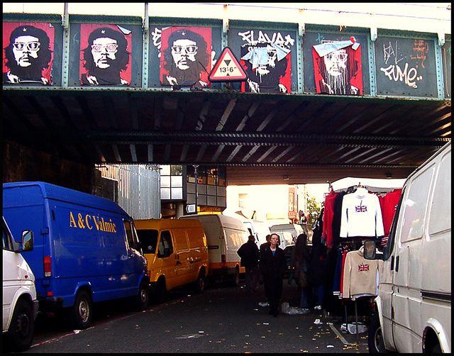 Che Guevara underneath the Westway