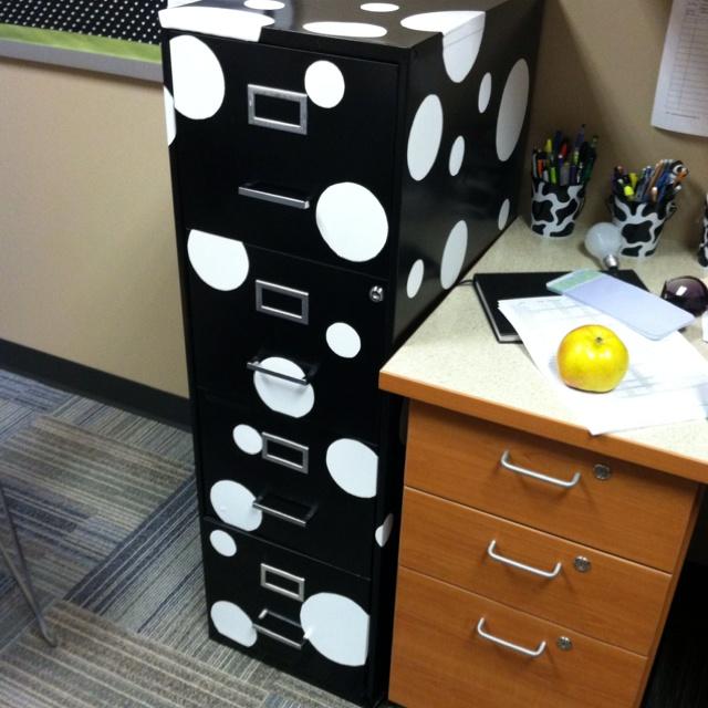 Elegant Contact Paper File Cabinet