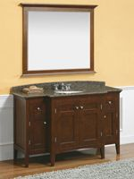 Cherry Bathroom Vanities Provide A Rich And Warm Bathroom Tone