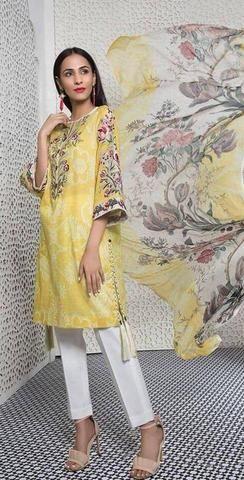 Sapphire Lawn Suit Ladies Suits Online Replica Designer Dresses