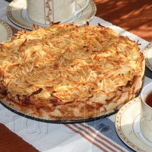 """Яблочный пирог """" 3 стака…"""