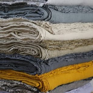 HMCo Flocca flat sheets. Ten gorgeous shades, oozing textural charm!