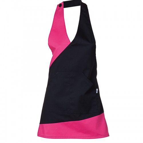 2e166b1423a 1830 125 fucsia - delantal bistro combinado | Dress | Delantales de ...