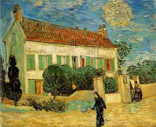 Vincent van Gogh: The Paintings (The White House at Night) 1890