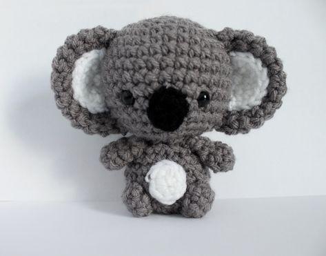 Free koala amigurumi pattern – Mara Pfaff – #Amigurumi #free #Koala #Mara #Patte… – online1pint