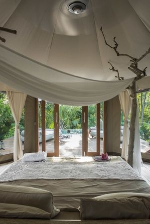 Indonesia -Bali // Photo: stefanoscata.com // sandat glamping tents camp in ubud bali