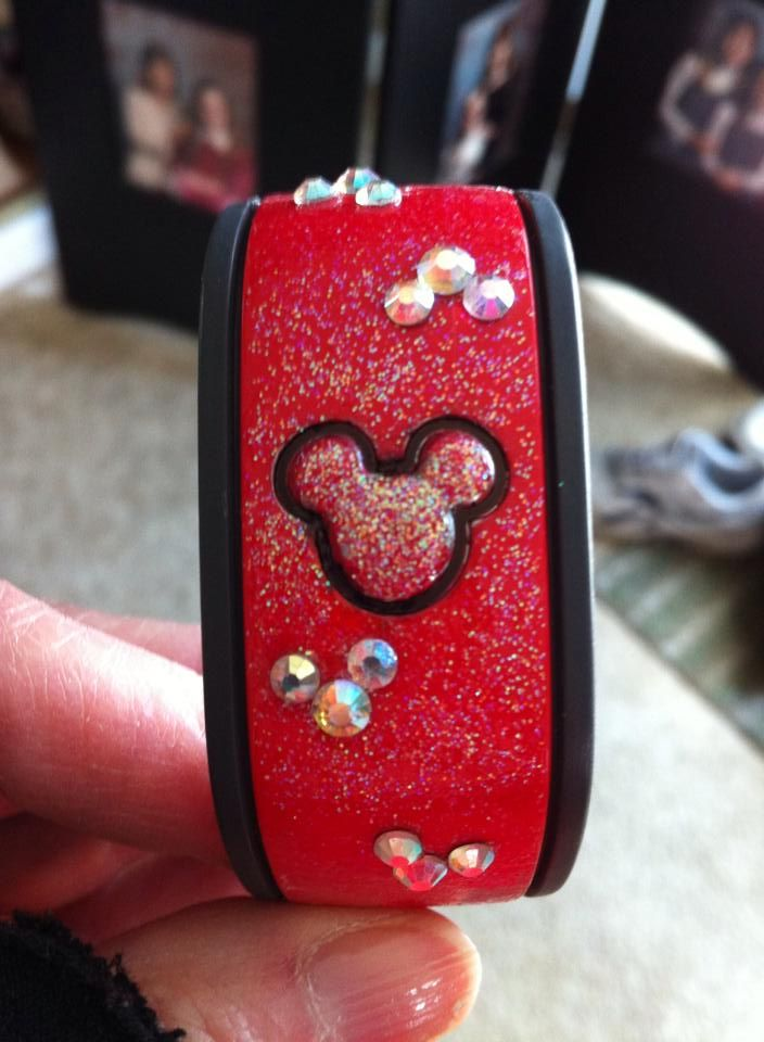Has anyone decorated their Magic Bands? Please show us the pictures! - Page 39 - The DIS Discussion Forums - DISboards.com