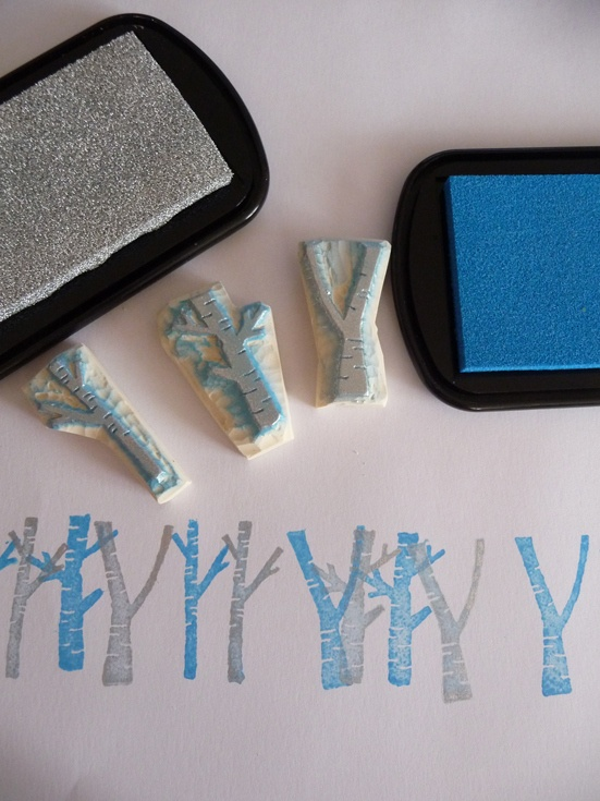 Hand Carved Rubber Stamp - Tampons en gomme - keshigomu hanko