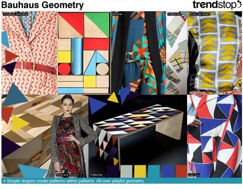 Bauhaus, Geometry and Textiles on Pinterest