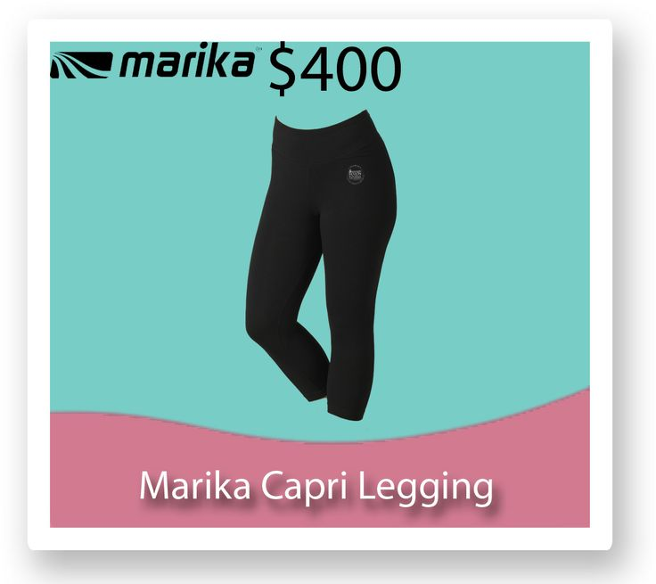 You will be living in these Marika Capri leggings once you hit the $400.00 fundraising mark!! http://fb.me/1gj7DqqcO