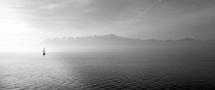 219 Ultrawide HD Wallpaper (3440x1440) A Lonely Boat in