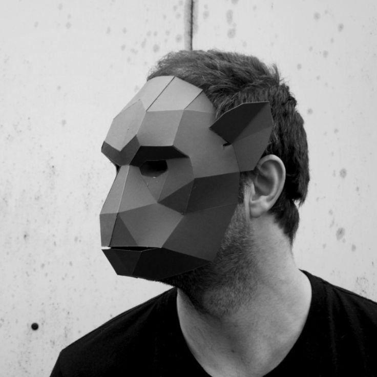 Monkey Mask - Wintercroft - 1