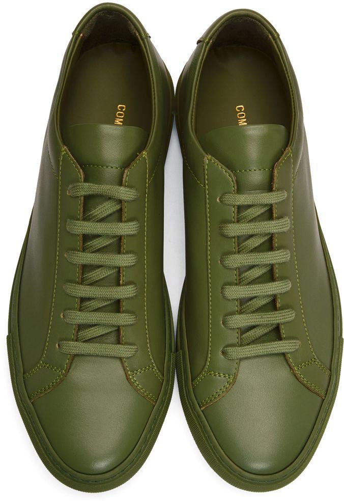 Green Original Achilles Low Sneakers