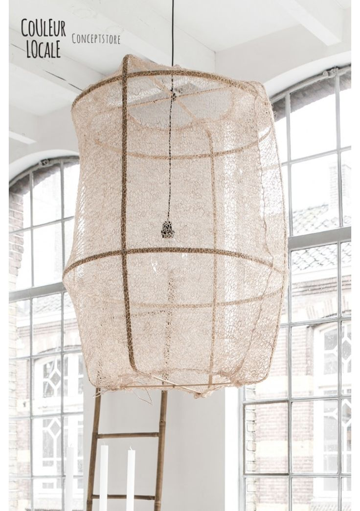 Ay Illuminate Z2 Ona Sisal Net   Hanging Lamps   Light