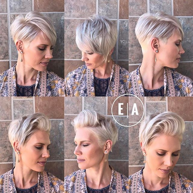 A few more views, bottom row we used the @isa.professional flat iron at the roots to bend in some height. Then tossed her hair to the opposite side. I like to create looks that are versatile for the client to style. You gotta have fun with it. Styled with @designmehair Power Dry Me, and the @kenraprofessional Dry Texture Spray and Texturizing Taffy. #designme #kenraprofessional #isaprofessional #emilyandersonstyling