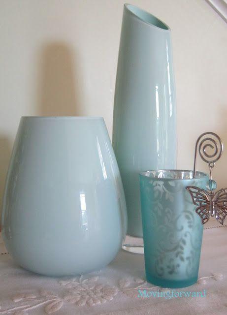 Painted Glass Bottles & Vases