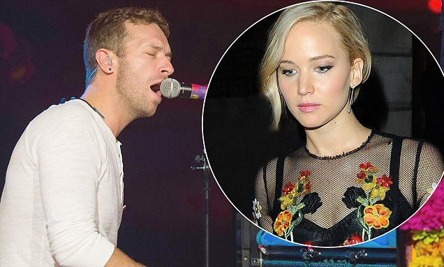 Coldplay's new song inspired by Jennifer Lawrence?