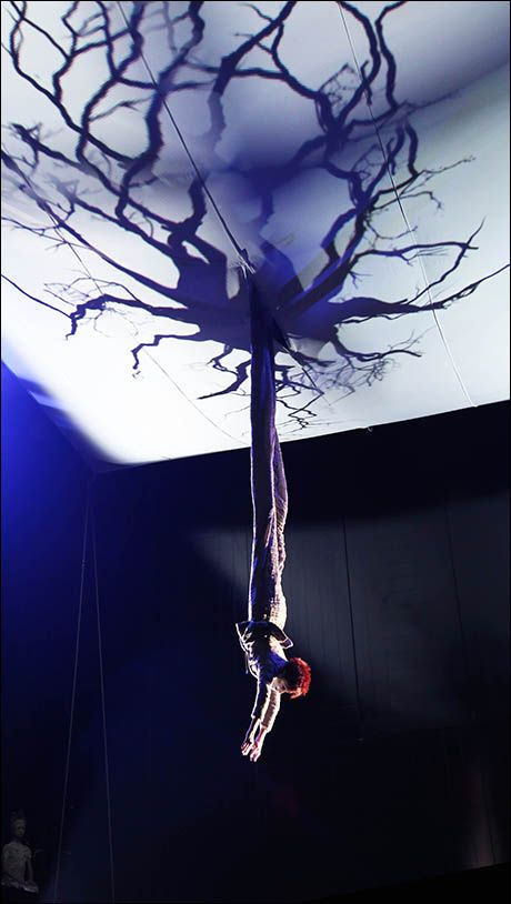 Kathryn Hunter in Theatre for New Audiences Production of Midsummer Night's Dream directed by Julie Taymor