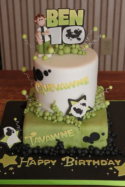 Ben 10 cake by Andrea's SweetCakes, via Flickr