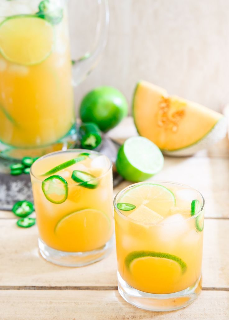 sweet subtly subtly spicy cantaloupe lime lush drink drank drank lime ...