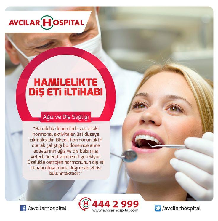 Hamilelikte hormon değişimleri diş eti iltihabı nedenidir. Anne adaylarının hamilelik döneminde diş bakıma daha fazla hassasiyet göstermesi gerekir. Diş bakımına gerekli önemi vermeyen anne adaylarında ağız içi rahatsızlıkların her türüne rastlamak mümkün. Hamilelik dönemindeki diş eti iltihabı aslında bakteri plağına bağlı olarak gelişir. Yazının devamı için >>> https://www.facebook.com/avcilarhospital/photos/a.208705999160353.55905.207620189268934/1299492190081723/?type=3&theater