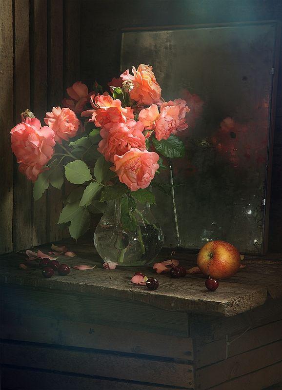 #still #life #photography • photo: дачные розы | photographer: Pretty | WWW.PHOTODOM.COM