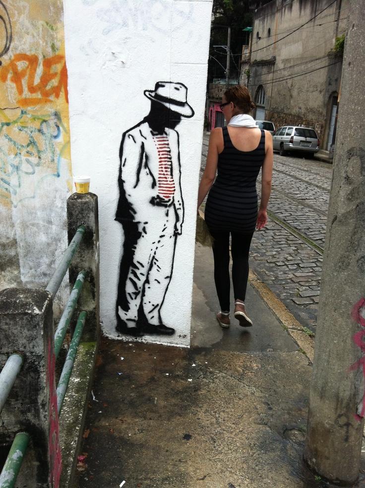 Artista desconhecido em Santa Tereza, RJ.