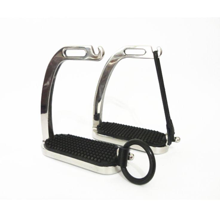 Pavone in Acciaio Inox Cavallo Stirrup Cavallo F1003