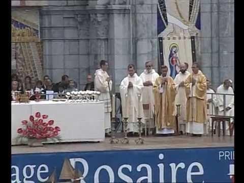 ROSAIRE 2016 : messe d'ouverture du mercredi 5 octobre à Lourdes