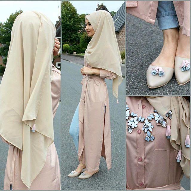 Tunika - @veronacollection Hijab + Shoes / Schuhe / Ayakkabilar - @nismashop from the brand @zamzamzalila Pants / Hose / Pantolon - H&M