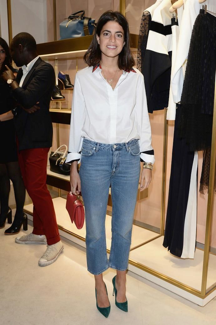Inspiration on Point: Leandra Medine at the Eddie Borgo Dinner, Paris Fashion Week Spring 2014 - BFA IMAGES