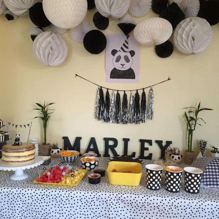 17 Meilleures Id Es Propos De Panda Birthday Party Sur Pinterest F Te De Panda Anniversaire