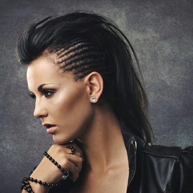 Punk inspired. Hair and Makeup by PROface.  www.facebook.com/zaneldavproface