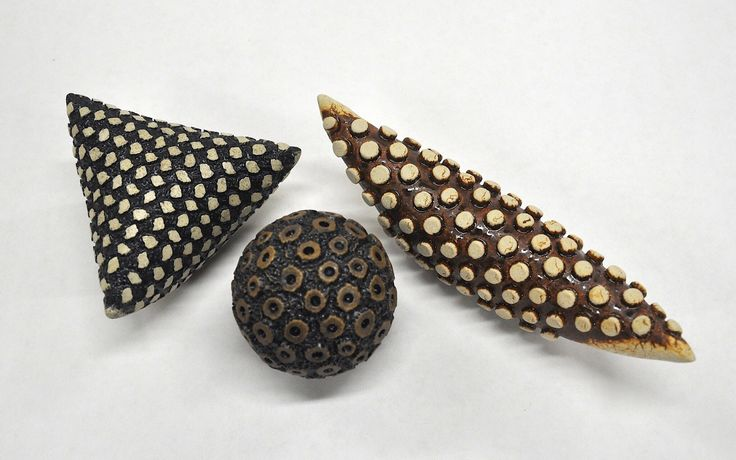 Ceramic rattles by Kelly Jean Ohl