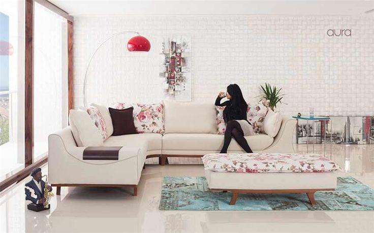 Aura Köşe Koltuk Takımı http://www.mahirmobilya.net/urun/aura-kose-koltuk-takimi_2811.aspx #köşe koltuk #corner sofa #en güzel köşe takımları