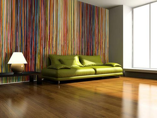 striped wallpaper -- designed by Markus Linnenbrink