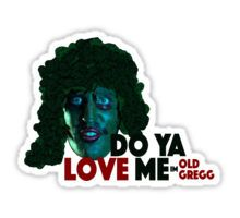 Old Gregg Sticker £1.32