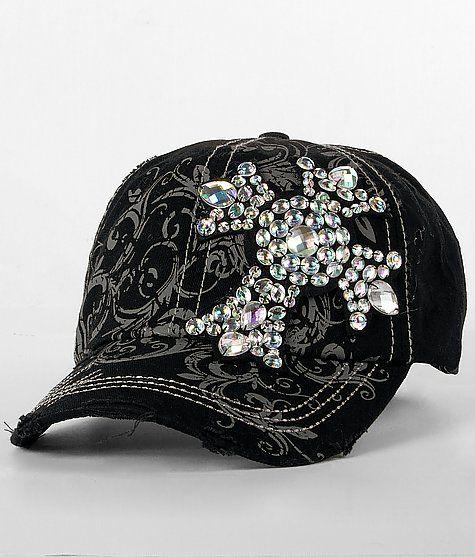 BKE Rhinestone Cross Applique Hat...I need this!!!!!