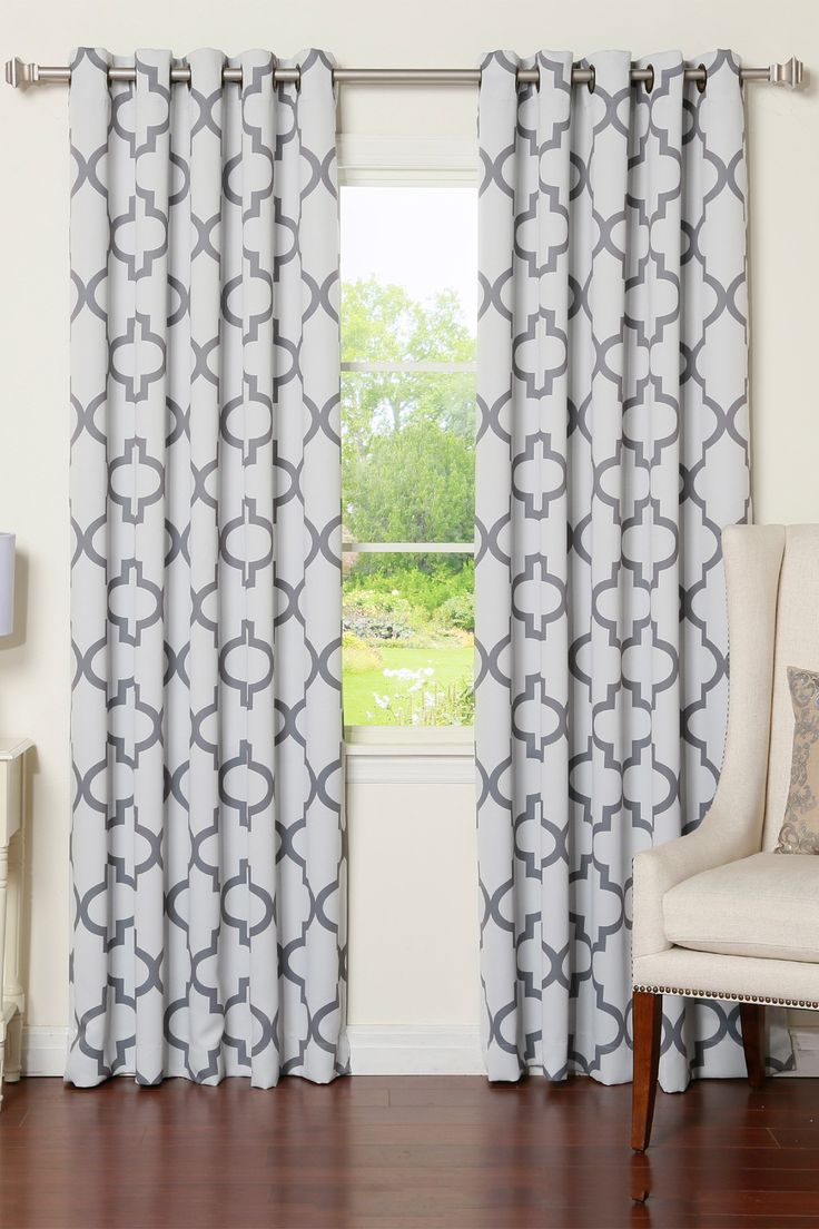 Printed Curtains Living Room 56 Best Images About Beautiful Grommet Panels On Pinterest
