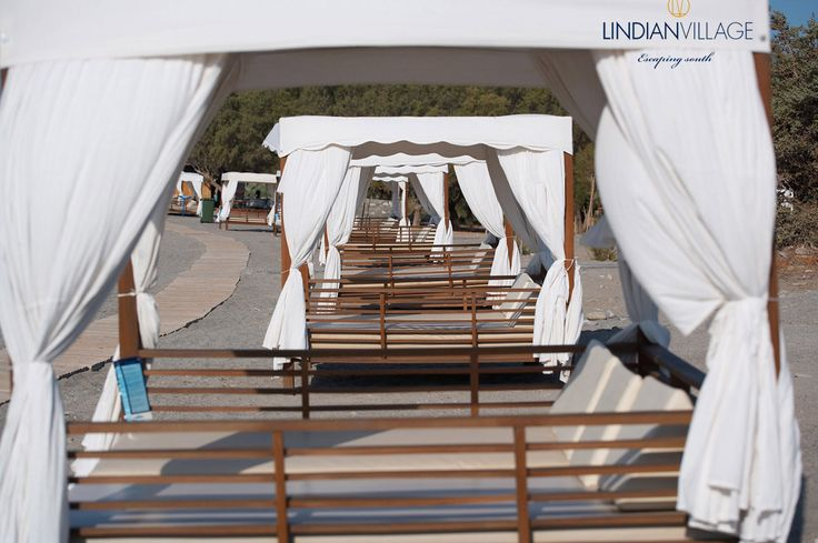 Rejuvenation by the sea…! more at lindianvillage.gr
