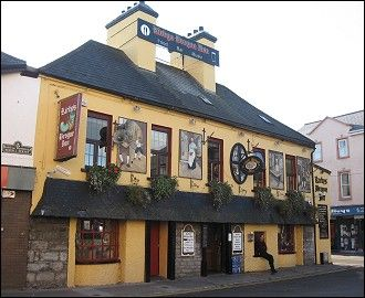 Tralee Pub, Ireland. We hung out here and drank and sang with the locals.