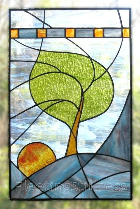 Pdf Pattern For Stained Glass Windy Sunrise Fleetingstillness Original Design In 2020 Stained Glass Designs Stained Glass Quilt Stained Glass Patterns Free