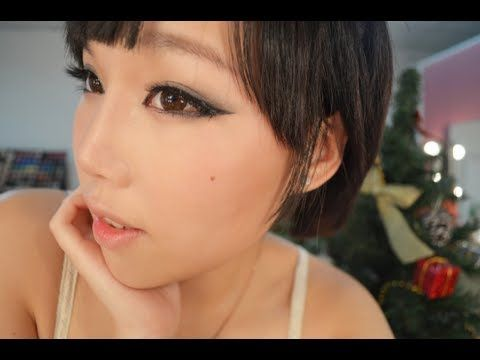 【BrenLui大佬B】Brown Eyed Girls Ga-in 孫佳仁 Inspired Xmas Look 聖誕妝 - YouTube