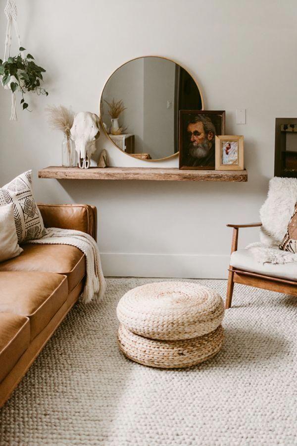 modern boho decor #home #style #cozylivingroom