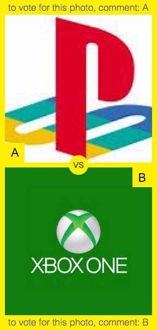 A or B? To vote for top photo comment A, to vote for bottom photo comment B. See results at http://swingvoteapp.com/#!polls/5373. Click here http://swingvoteapp.mobi/ to install Swingvote mobile app and create your own polls.