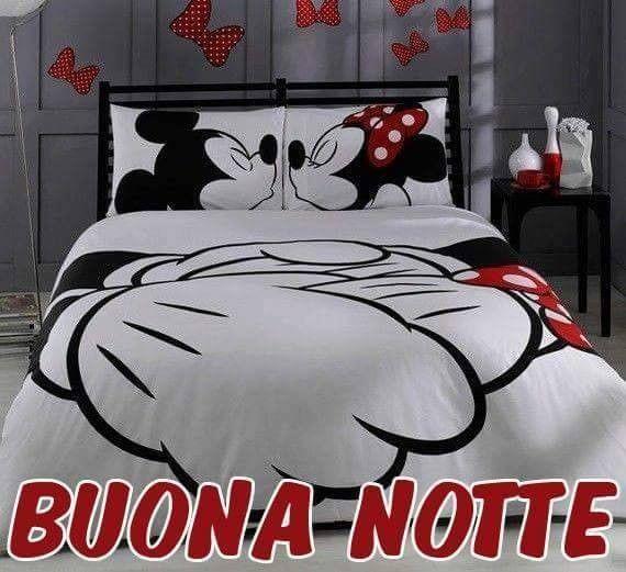 Buona Notte #buonanotte topolino mickey mouse minnie mouse