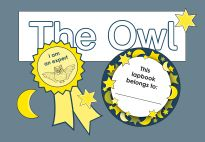 Labels for the Owl Lapbook - Resources for children in pre-K and kindergarten from KiGaPortal.com