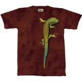 The Mountain Bright Eyes Lizard Gecko Mens T-Shirt - MEDIUMBy The Mountain
